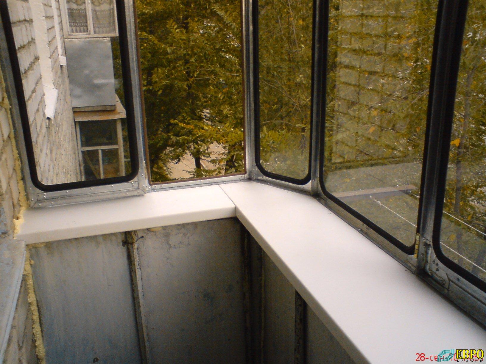 """Оцинкованные рамы """" евробалкон. остекление, отделка балконов."""