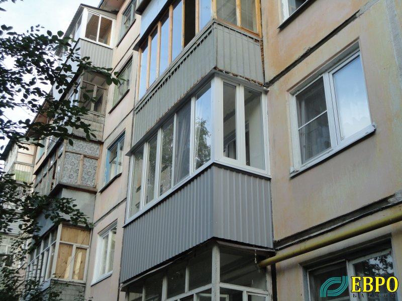"""Балкон """" евробалкон. остекление, отделка балконов и лоджий в."""
