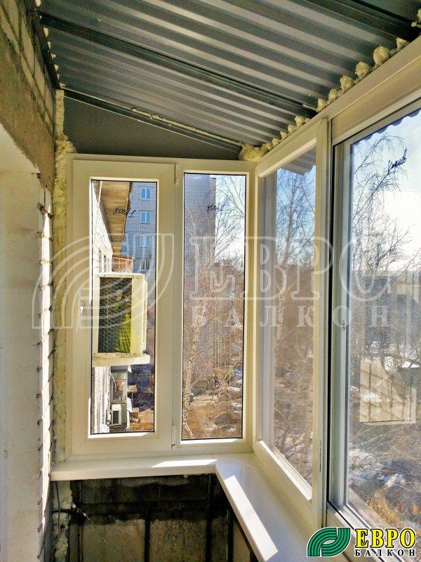 Металлическая рама на балкон..